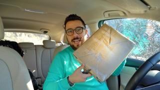 UNBOXING di Fine Anno, in auto!