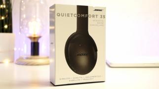 Recensione Bose QC 35, cuffie Bluetooth over ear con cancellazione dei rumori
